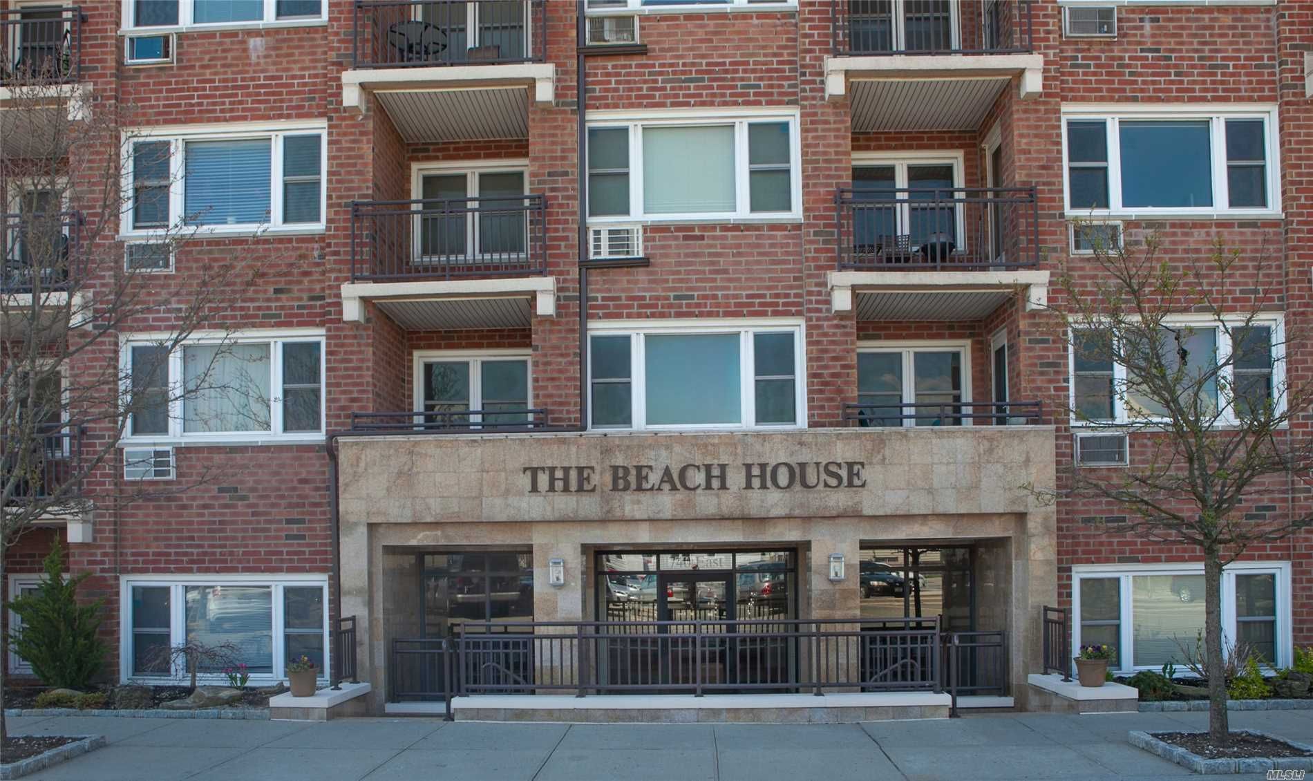 Don't Miss this Beautifully Renovated Alcove Studio Apartment with Stainless Steel Appliances, Gorgeous Wood Floors, Private Terrace, new bath and Lots of Closets. Well Maintained Building has Outdoor IG Heated Saltwater Pool, Bonus Serenity Garden, Bike Room and Gym. Washer/Dryer On Every Floor. Close to LIRR and on bus route. 1/2 block to beach!