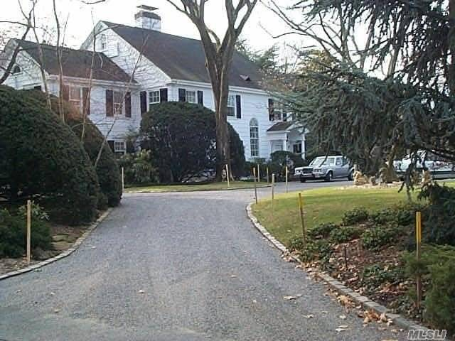 Stately Colonial Set On Large Property With Possibility Of Subdivision.
