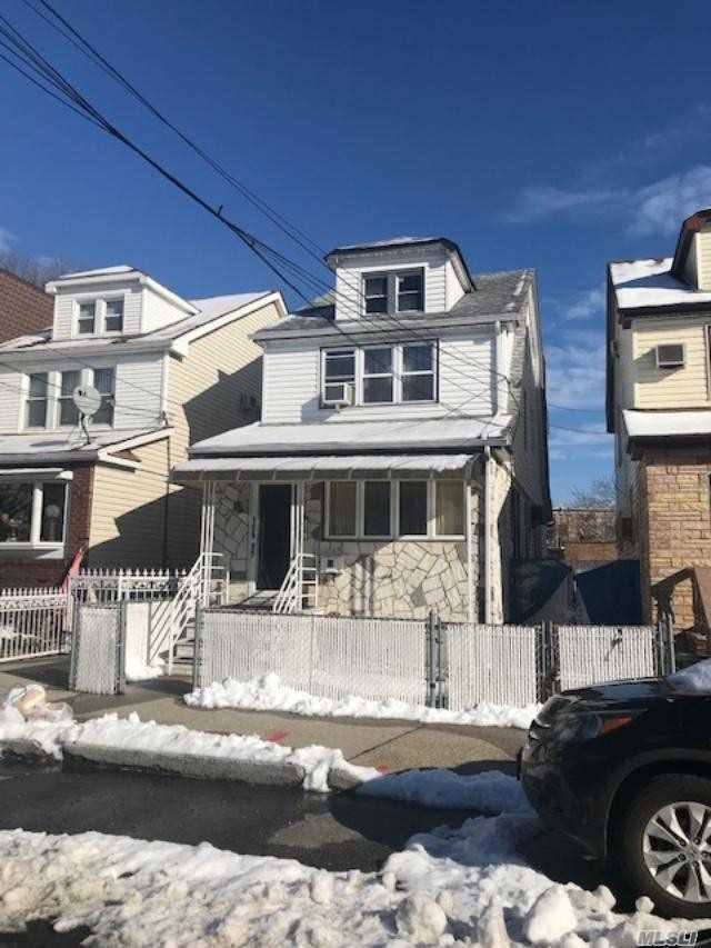 Detached 2 Family Home In The Heart Of Ozone Park. 4 Bedrooms, 2 Baths, Private Driveway, Full Basement