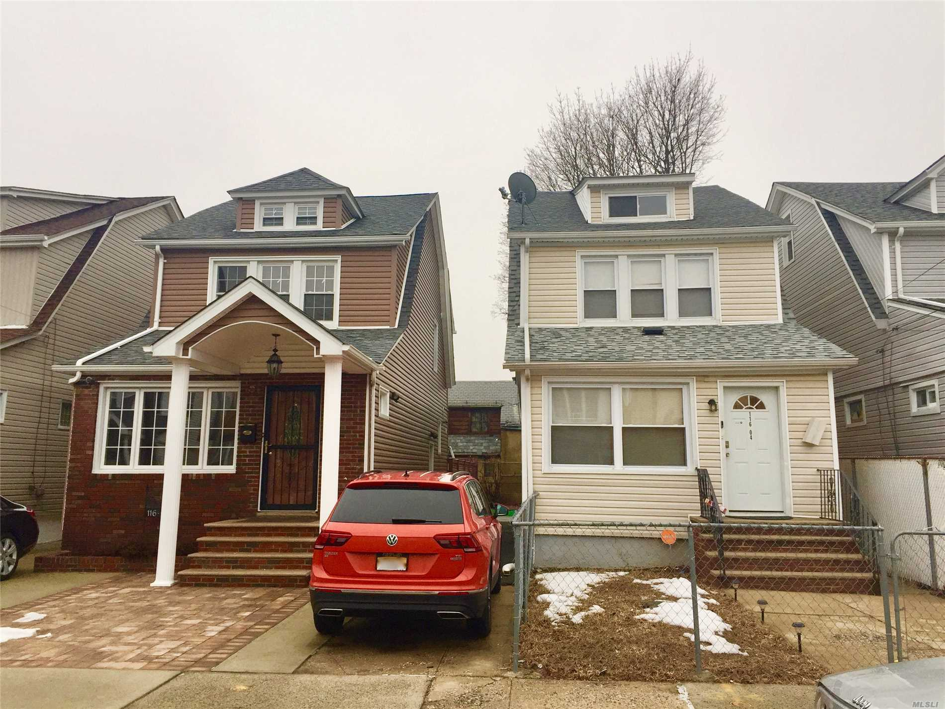 Beautiful One family house Fully Renovated, 5 Br, 3 Baths, kitchen With Granite Counters, Large finished Basement With Gas Heat, New Gas Furnace And Hot Water Heater,