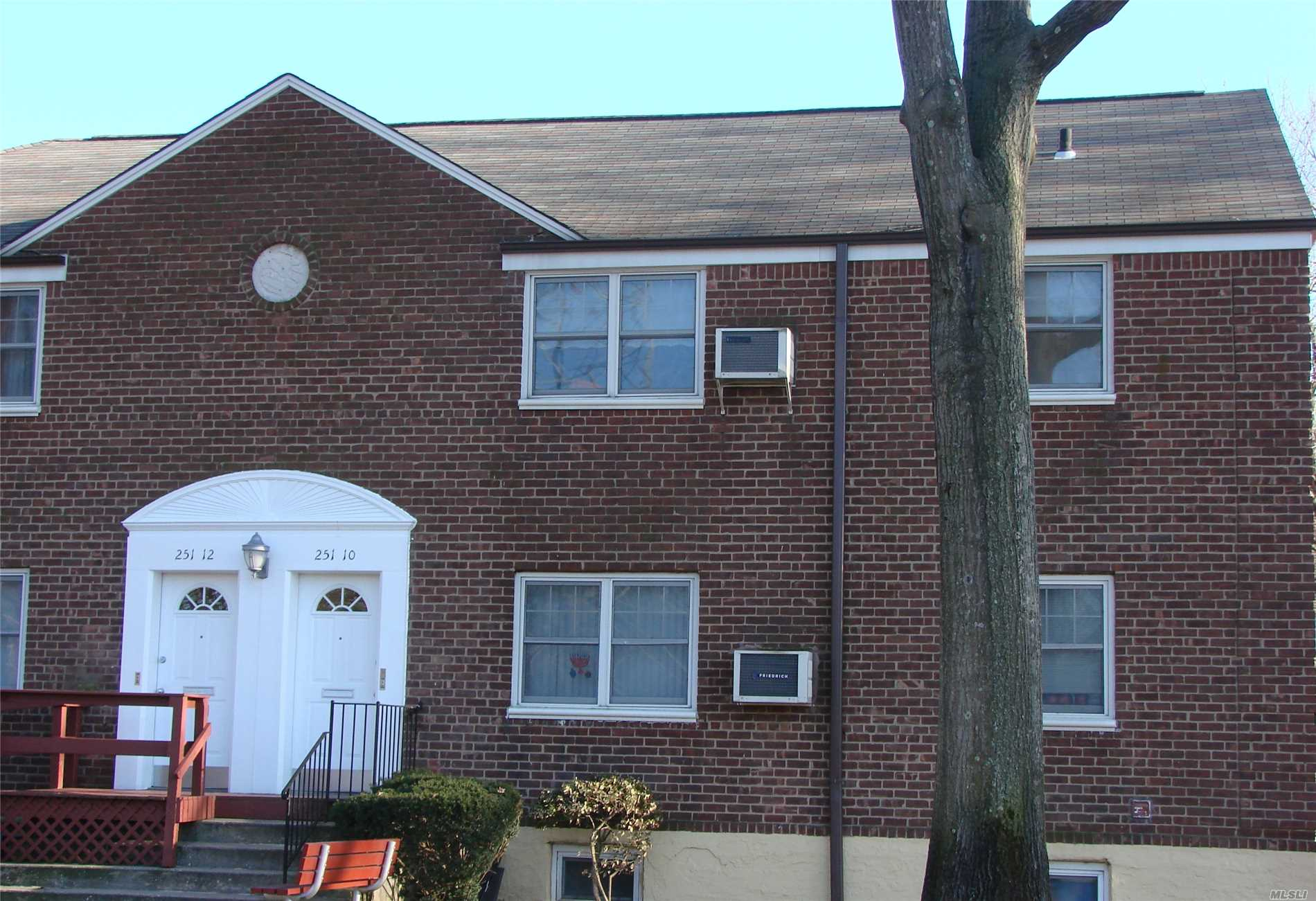 Spacious two bedroom upper unit, with dining room off kitchen. Unit requires updating. There are limited upper units available, pull down attic storage. Great location! Easy access to parkways, hospitals and shopping. Quiet, residential neighborhood.