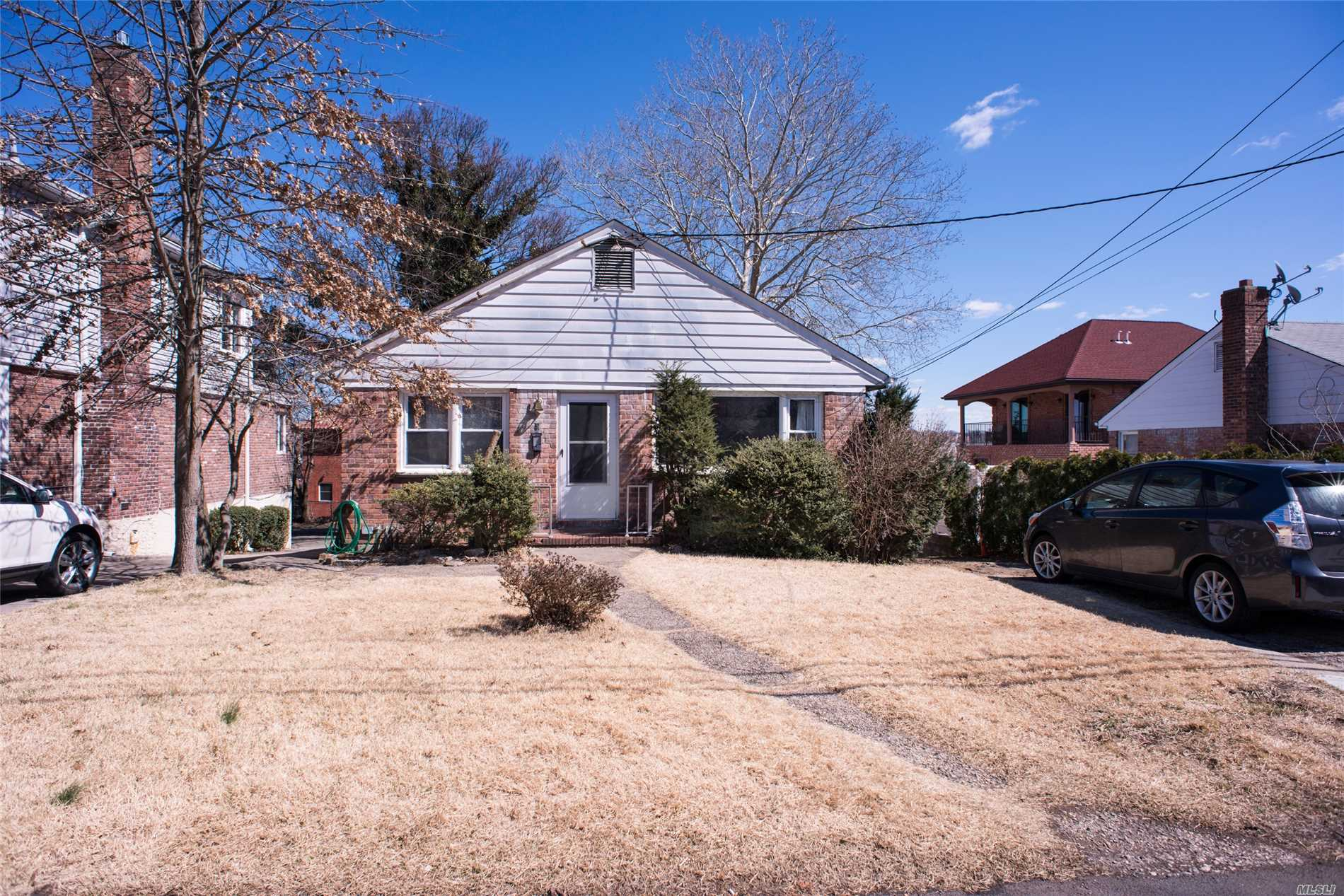 Beautiful, quiet street. Great opportunity to own this quaint ranch home in highly sought after north Bayside location. Partial views of Little Neck Bay. Close proximity to Northern Blvd., Bell Blvd., Bay Terrace shopping center, Bayside LIRR, buses and major highways.