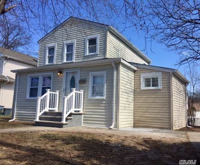Freeport Schools!!! Do Not Miss Out On This Completely Renovated House. Everything Is New From Top To Bottom. 4 Bedrooms, 3 Full Bathrooms And Full Finished Basement With OSE. This House Is Turn Key And All You Do Is Have To Move In!!!