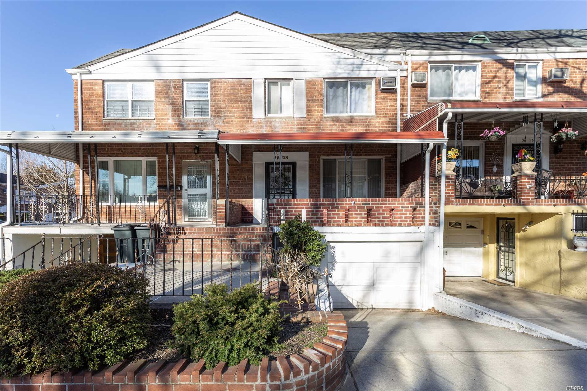 Completely Renovated Inside and out. Exquisite Detail And Workmanship. Sunny exposure. New Contemporary Kitchen And 2 new Bathrooms. Beautiful rear yard w new pavers and new Landscaping. Close To Train, buses and shopping. Don't miss this special gem!! R5 Zoning