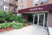 Large 1 Bed 1 Bath Apartment totally renovated With Plenty Of Closets. Walk In Closet. Dining Room Converted to Den. Large Foyer can be used as Dining Room. Walk To Bay Terrace Shopping Center, Library, Bay Terrace Pool Club (Not Part Of Coop), Elementary/Middle School, Express Bus, Bus To Flushing & LiRR. Maintenance Listed Includes 1 Air Conditioner, Dishwasher, Taxes, Gas & Electric. Buyer Will Get 1 Parking Space For $20/Month