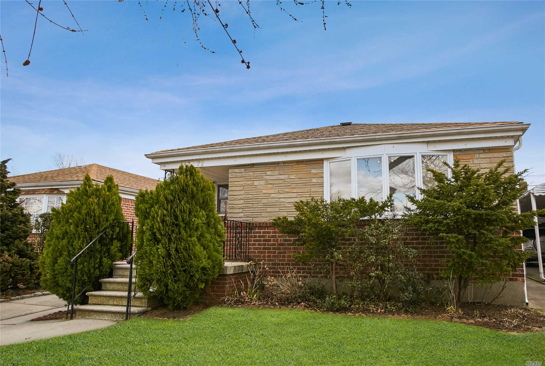Beautiful Ranch with Eat in Kitchen, Formal Dining Room, Living Room, 3 Bedrooms, 1 Full Bath. Full Basement with Laundry Room and Cedar closet,