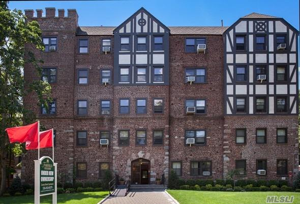Historic 1930 Tudor-Style Building!Great Studio, 1 & 2 Bedroom Apartments!Heat & Hot Water Included. Beautiful Upgrades:Professional Landscaping, Paver & Bluestone Walkways.New Designer Lobby & Hallways. Tuscany-Style Kitchen Cabinetry, Granite Countertops, Stls Stl Appl, Dishwasher & Microwave.