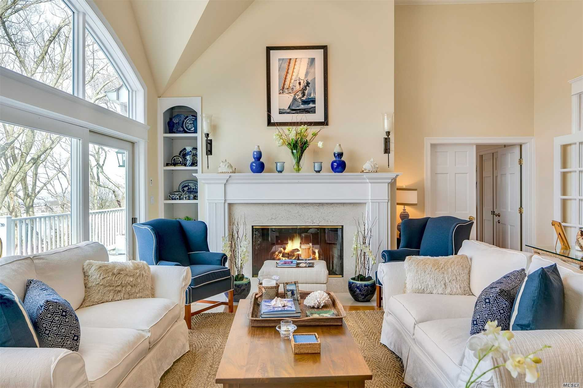 Set On .25 Acre Of Landscaped Property W//Spectacular Waterviews Of Mill Neck Bay And Connecticut. A Picture Perfect, Sun-Light Home Boasts 4 Bdrm, 3.5 Bath. Updated Kitchen W/Sliders Leading To Deck, French Doors Leads Into Lr W/Fpl And Soaring Ceilings, Master Ste on First Fl. W/Fpl , Plantation Shutters, Fans, Vaulted Ceiling W/Wic, 2nd Fl Has Large Bdrm/Office With Storage Room, Lower Level Has 2 Bdrm W/Full Bath, Den, Ose. Enjoy Sunsets, Kayaking, Etc. Turn-Key, Low Taxes