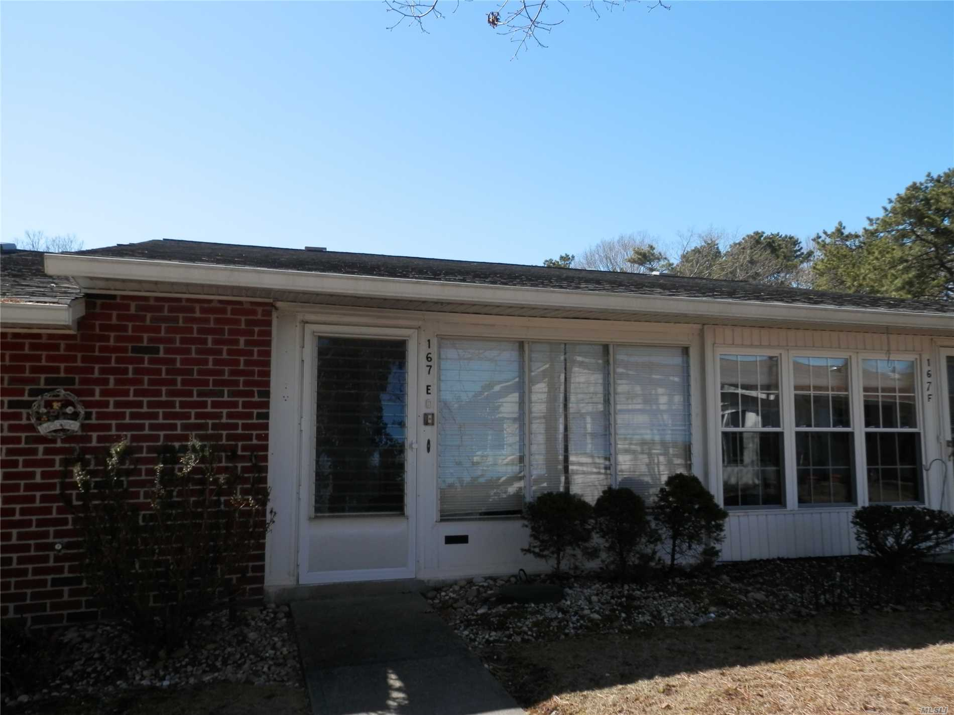 Lowest priced condo in Leisure Village! Added back door for easy access, skylight, newer hot water heater, washer/dryer, and dishwasher. Tenant occupied until 5/1/2019. Leisure Village has a one pet policy.