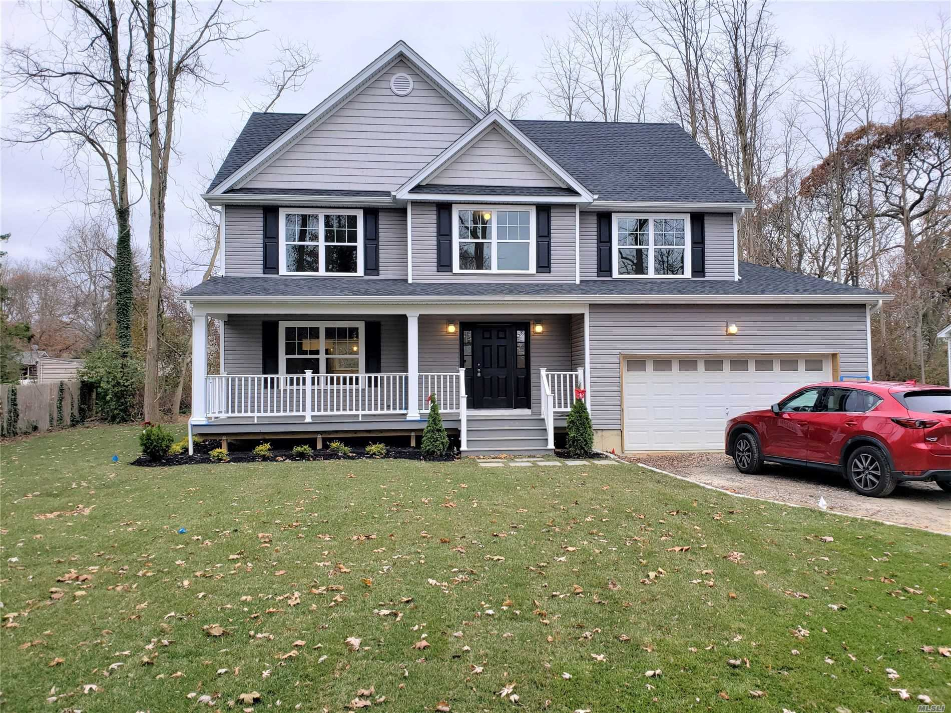 New To Be Built 2 Spacious Post Moderns Approx 2, 400 To 2, 550 Sq Ft. Featuring Hardwood Flooring, Natural Gas, Central Air, Full 8' Basement, Custom Moldings, Fireplace, Eik With White Cabinets, Granite & Center Island, Master Suite W/Bath & Dream Walk-In Closest, 2 Car Garage, 200 Amp Service, 2nd Story Laundry, Energy Star Rated! All This Situated On Huge Half Acre+ Lots On Beautiful Dead End Street. Still Time To Customize!!!