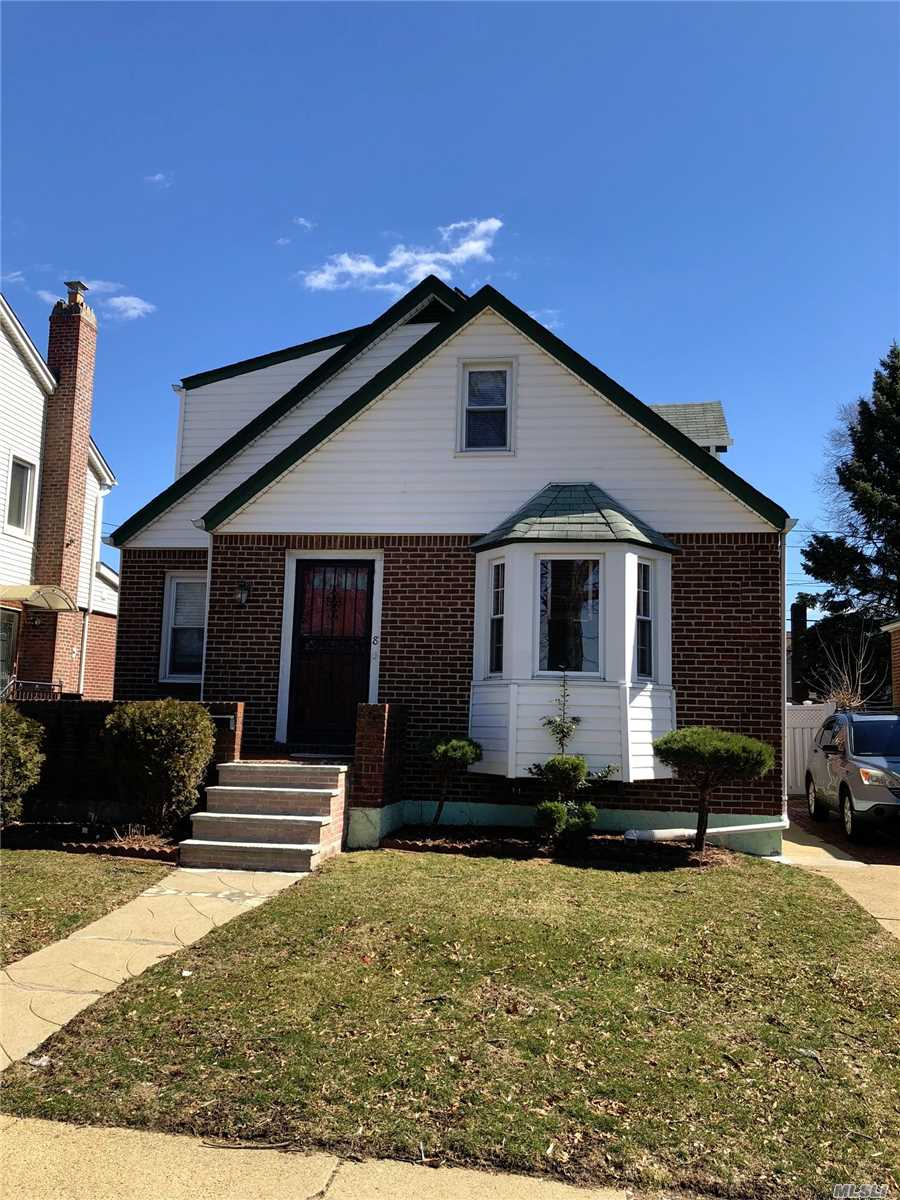 4 bedrooms, 3 full baths. Full finished bsmt. Nice backyard. Private driveway. Garage. Very well kept. Lots of light throughout. This beautiful house has solar panels that helps saving energies!!!