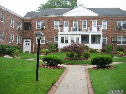 Second Floor large 1 bedroom Coop apartment. Corner Unit. Freshly painted. govt subsides accepted. Steps to shops, Lirr, Bus, Worship & Schools. Laundry facility in the Basement. Landlord pays for Heat & Hot Water. Tenant pays Electric & Gas Cooking.