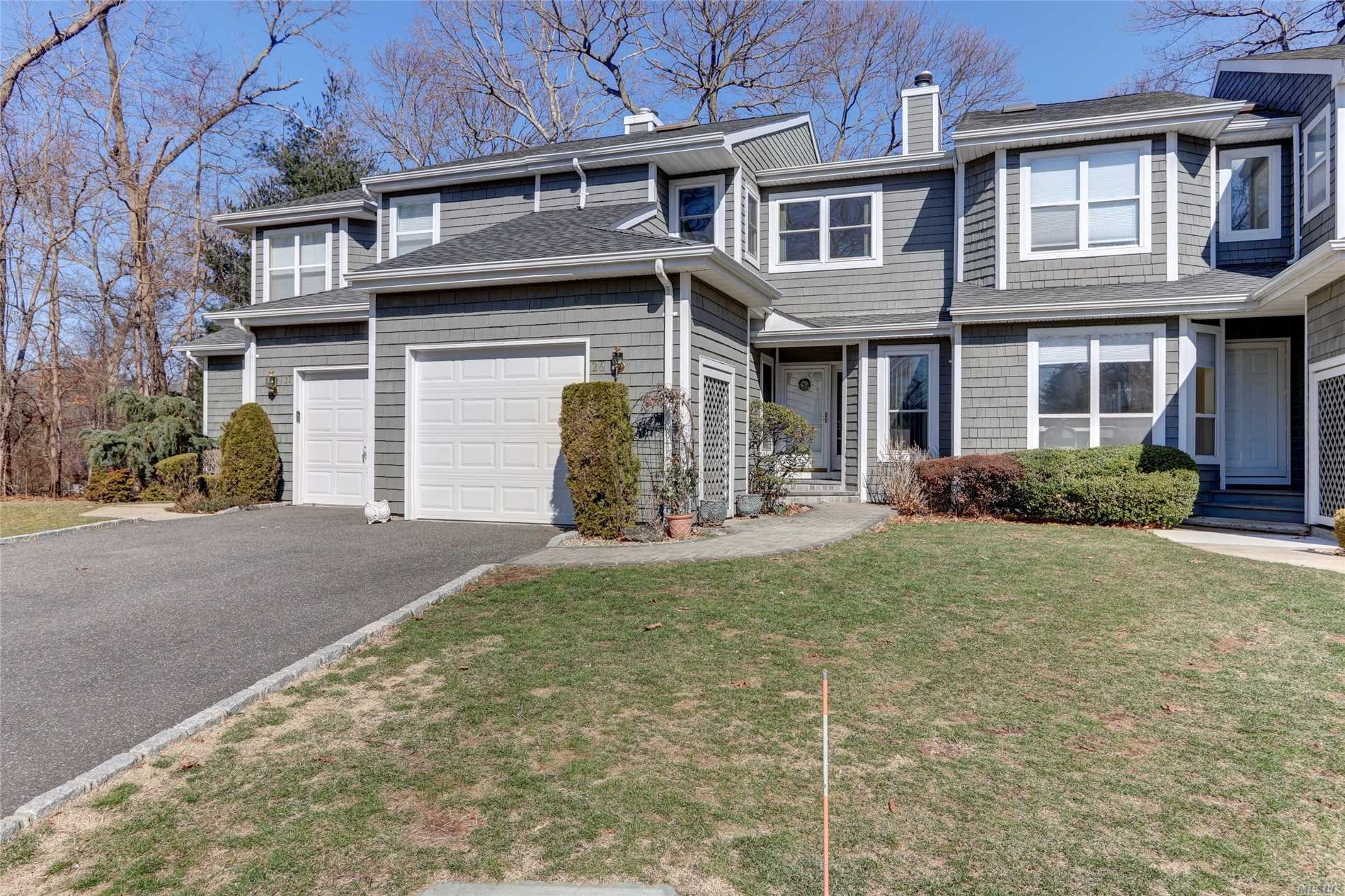 Move Right into this Lovingly Maintained & Updated 3 BR, 2 1/2 Bath Condo in Commack SD, Full Finished Basement, Wood Floors, Updated Heat/AC, Driveway, Walkway.