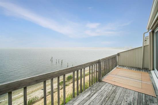 *******Price Reduced***** Situated at an idyllic location right on the waterfront, this 2900 sq ft , 4 Levels of living , ultimate coastal lifestyle. Enjoy direct water view from every room and 2 decks, access to the sea via dock. Inground Community Pool, All year round community. Custom kitchen cabinets , Granite counter top , New smudge proof Stainless steel appliances.New Baths Environmental Friendly Bamboo Floors