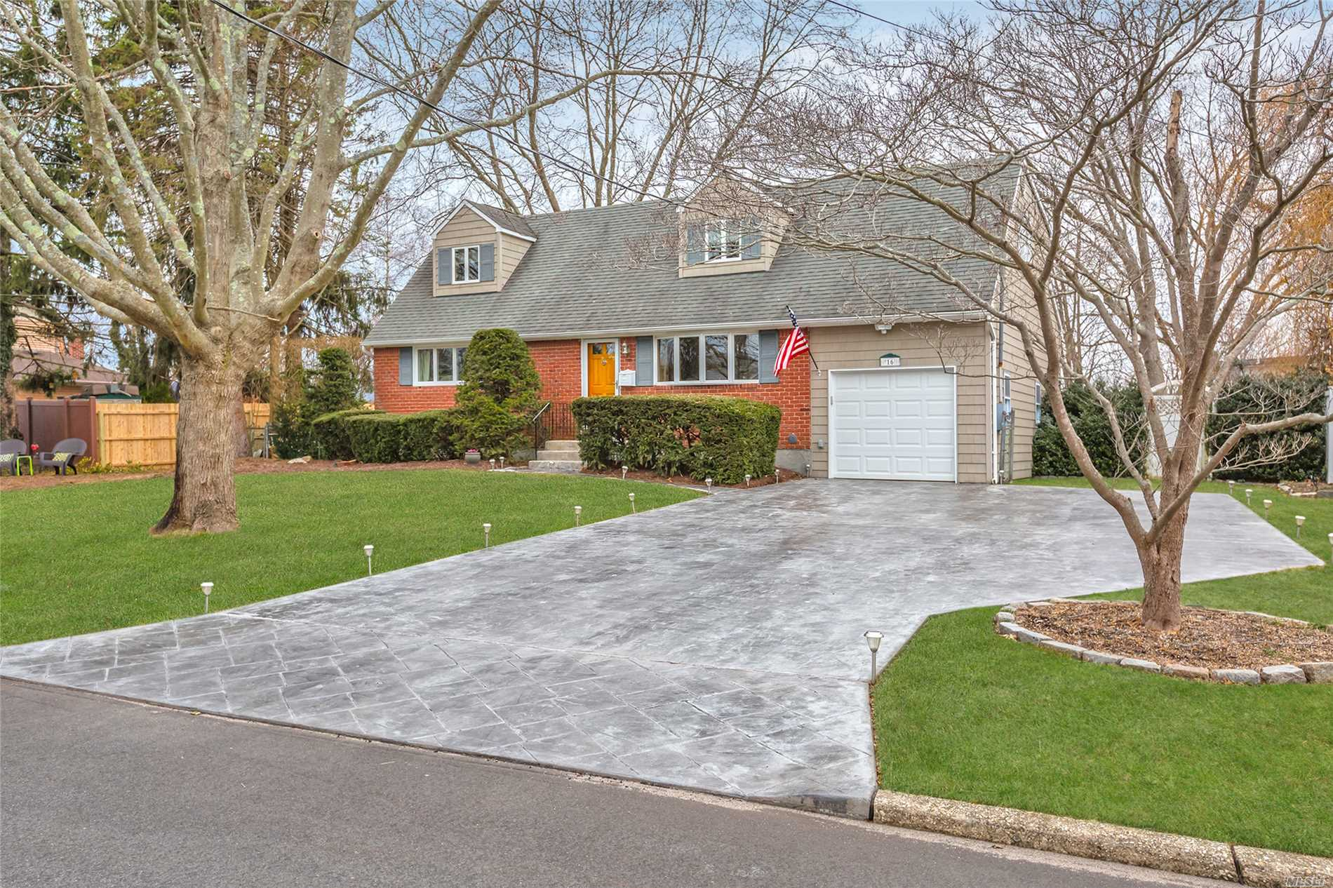 New To Market! Pretty 4 Bedroom, 3Bth Expanded Cape on Lovely Street. Nice Size Master Bedroom with a Private Bath. Central Air Conditioning. Great Kitchen with Island, Rich Cabinetry, Granite Counter-Tops And Oversized Sliding Doors to Sun Deck Overlooking Private Big Backyard. Attached Garage & Full Basement. Move In Condition! Won't Last, Don't Miss!