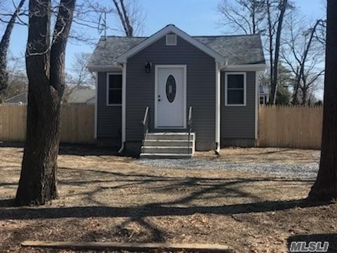 Why rent when you can own? Adorable Ranch, completely renovated top to bottom, inside out! L-O-W L-O-W T-A-X-E-S!! Entry foyer, Living room with vaulted ceilings, 2 bedrooms, full bath, Granite/Stainless EIK with lots of storage, beautiful floors throughout. ALL NEW Quality renovation makes it worth the visit.