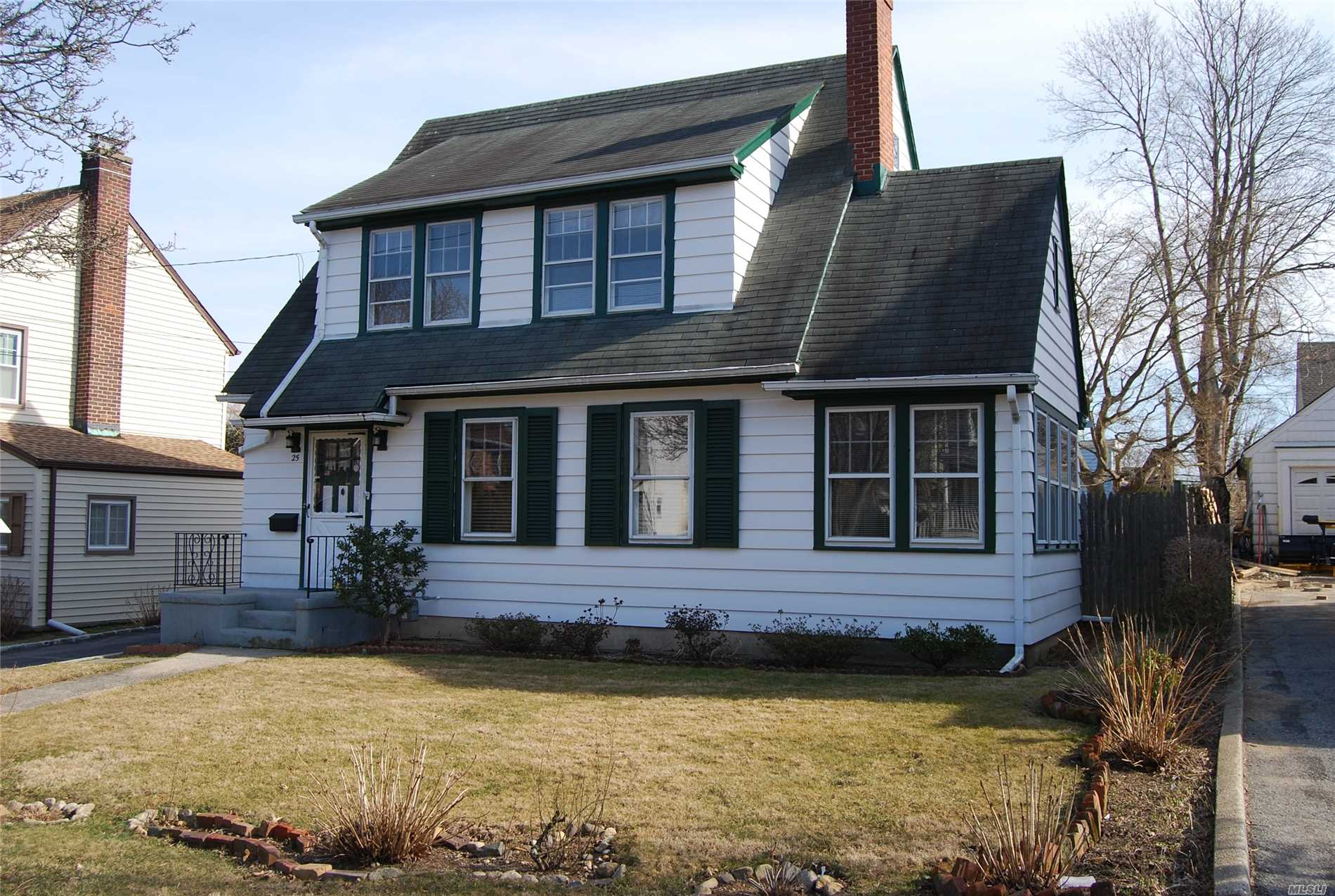 A charming 3 bedroom Colonial with 2.5 baths, Living Room with Fireplace, Formal Dining Room, Kitchen, Office, 2 car garage and private yard.