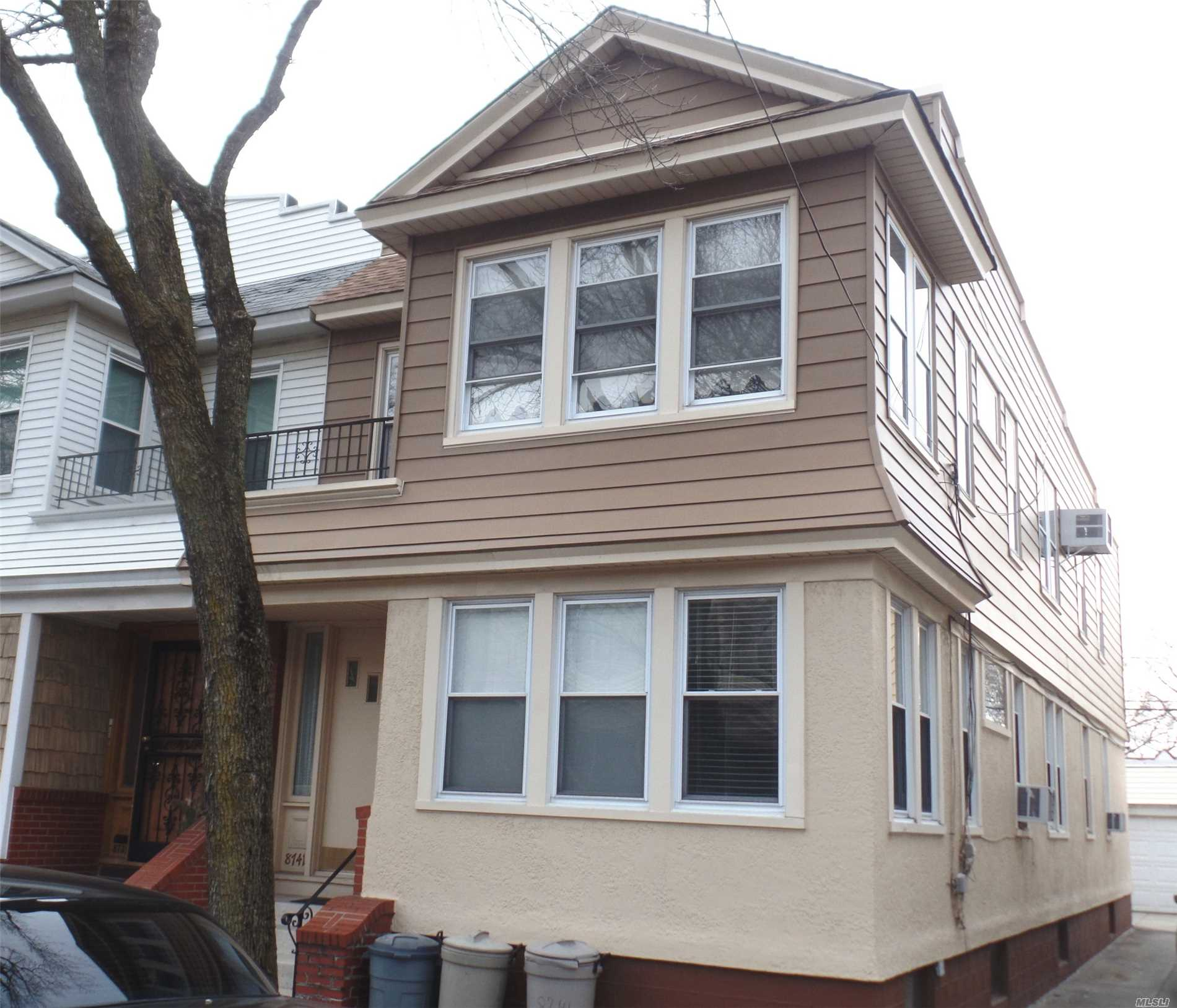 DESIRABLE GLENDALE SEMI-DETACHED 2 FAMILY HOME. QUIET ONE WAY STREET. CENTRALLY LOCATED. 1ST FLR: ENTRY FOYER, LIVING ROOM, FDR, EIK, 2 BEDROOMS, DEN & FULL BATH. 2ND FLR: LIVING ROOM, FDR, EIK, 3 BEDROOMS, DEN & FULL BATH. FULL UNFINISHED BASEMENT WITH OSE. LAUNDRY & UTILITIES. 2 CAR DETACHED GARAGE & DRIVEWAY! UPDATED HEATING SYSTEM & MOST WINDOWS & ROOF.