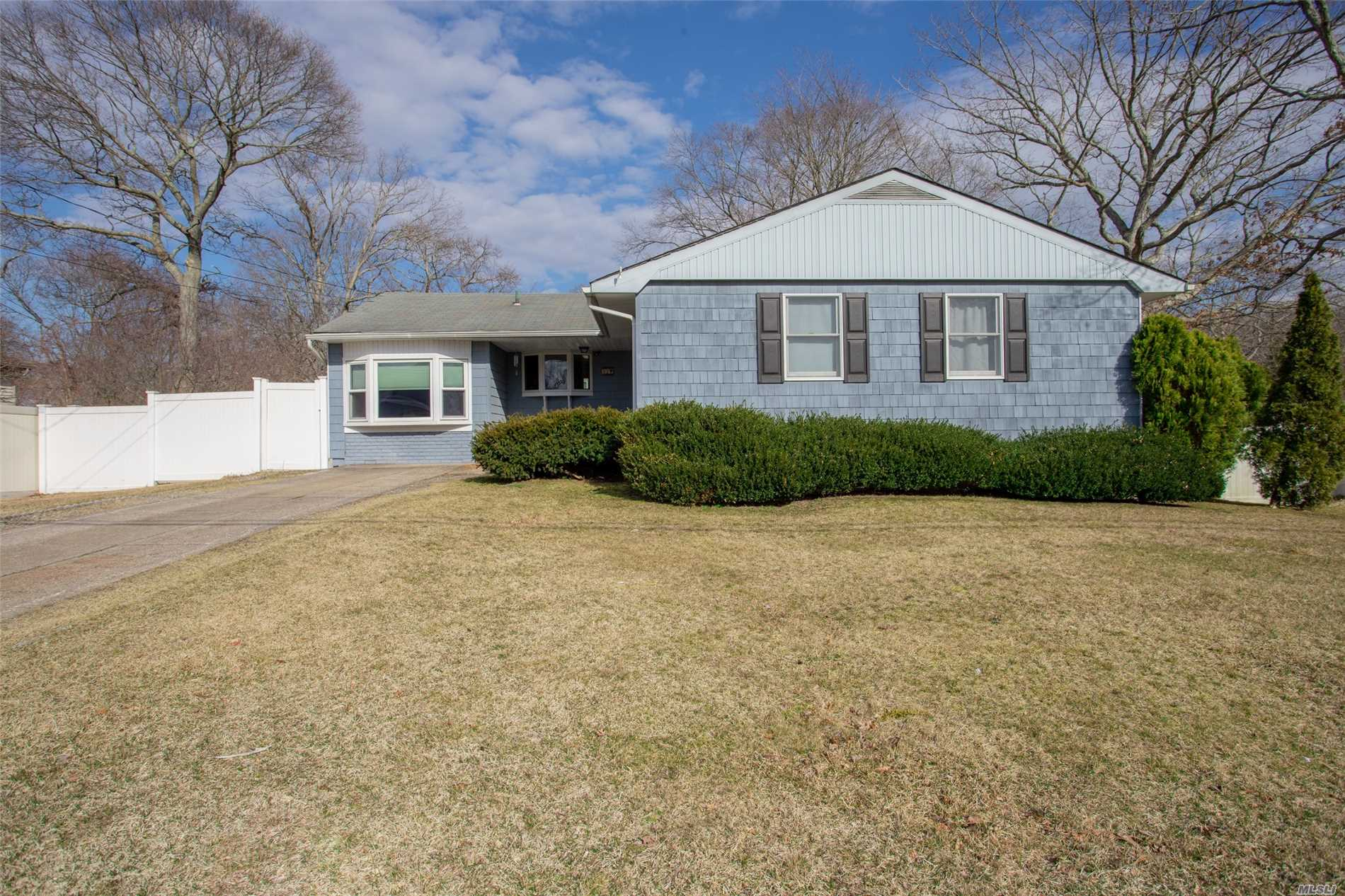 Charming 3 Bedroom Ranch. Centrally Located. Fenced in Backyard.