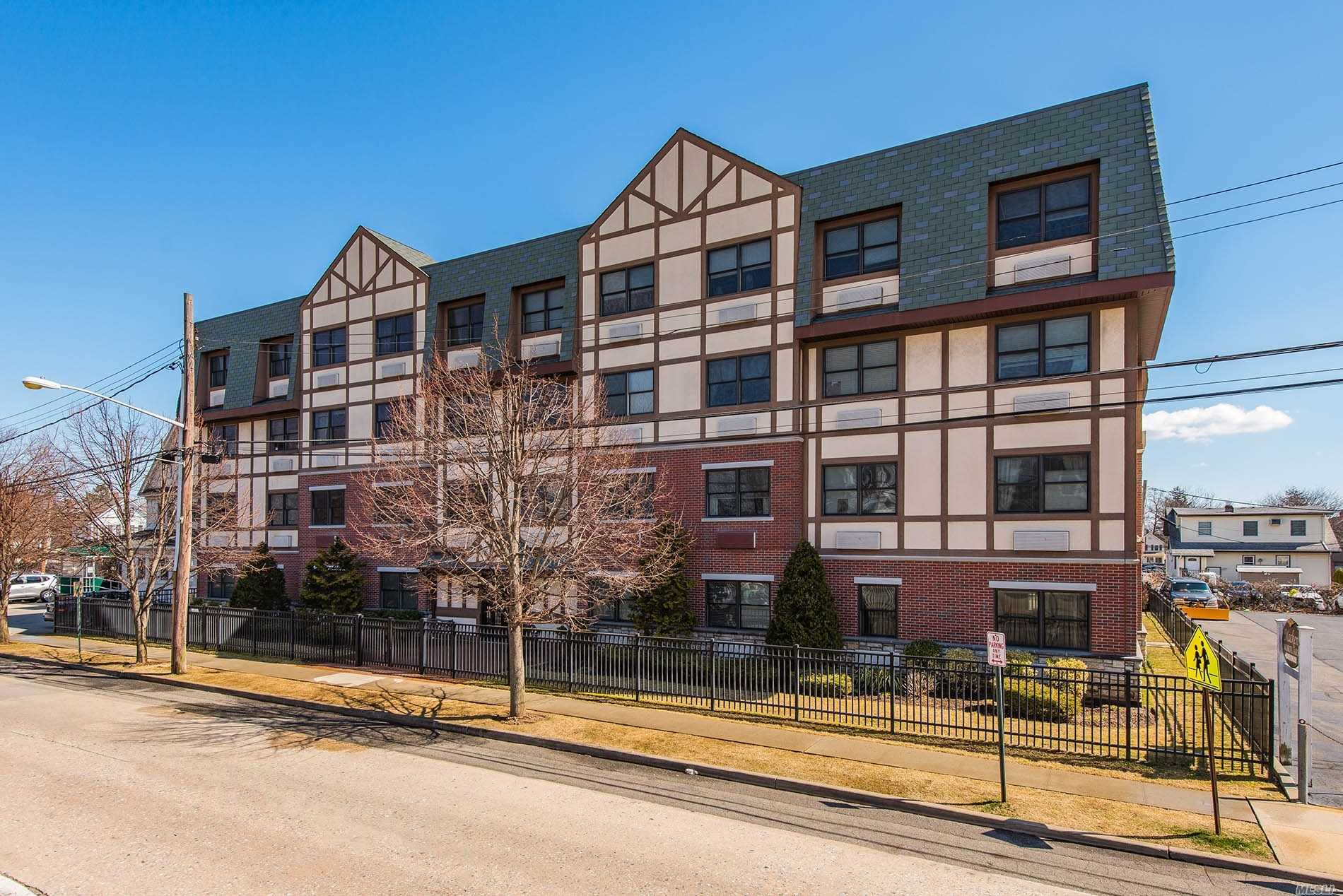 This 32 Unit Condo Building For 55+ is conveniently located near the Rockville Centre LIRR and the village with many restaurants and shops. This two Bedroom corner Unit W/ Washer/Dryer has 1.5 baths.  Each condo comes with an 8 X 10 storage unit in the basement. The building also has a large community/club room for the residents use.