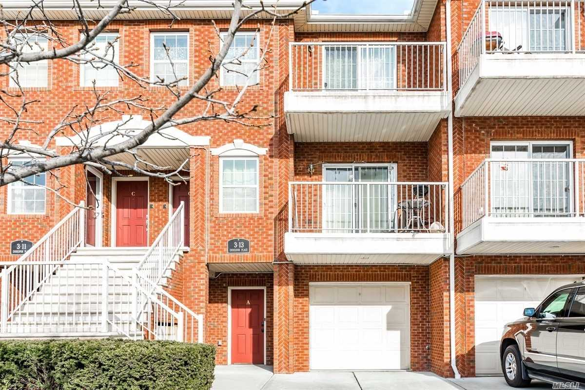 Spacious One Bedroom, Appx. 995 Square Foot Condo, 7 Years Young, With Backyard On A Private Enclave With Running Path Great For Adults, Kids, And Pets. Lovely Hardwood Floors And Low Common Charges. P.S. 129 & J.H.S. 194.