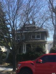 nice house on large lot with 2 car garage great location
