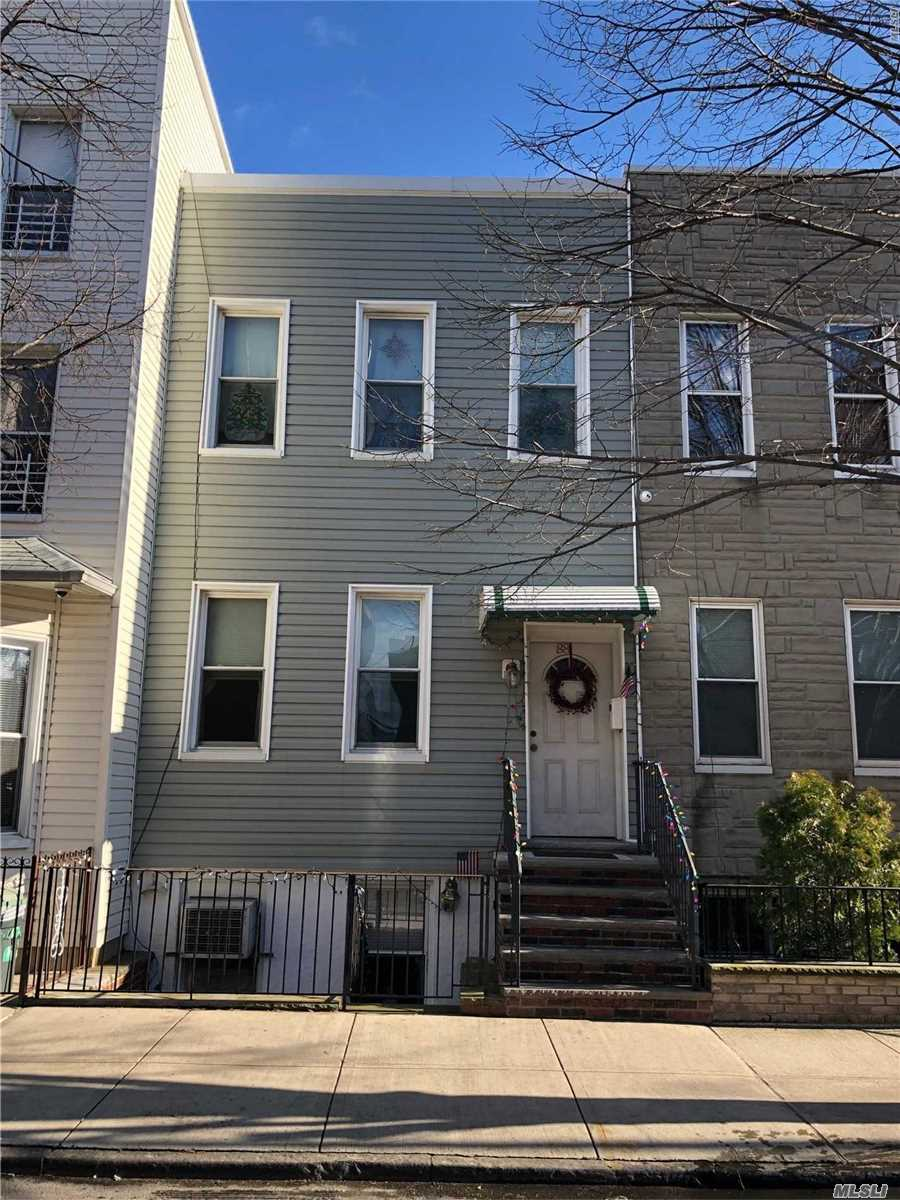 Attached Legal 2 Family in the Heart of Green Point Brooklyn. Close to Everything. Tree Lined Street. .This won't Last, LOCATION, LOCATION, LOCATION.