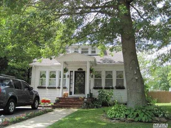 Motivated Seller, willing to hear all offers; Charming Farm Ranch, in need of TLC; w/oversized property In Beautiful Twin Lakes Area of Wantagh just across the way from Preserve w/Hiking/Walking Trails & Fishing. Beautiful Formal Living Rm. w/Fplce, Lg. Formal Dining Rm, Gleaming Wood Flrs. & High Ceilings. Lg. 4 Bdrm., 2 Full Baths, First Floor Master. Enclosed Porch/Sun Rm., Huge Yard with Pond & Semi In-Ground Pool & Patio. Easy Access To Parkways, Railroad, walking to Schools and Shopping.