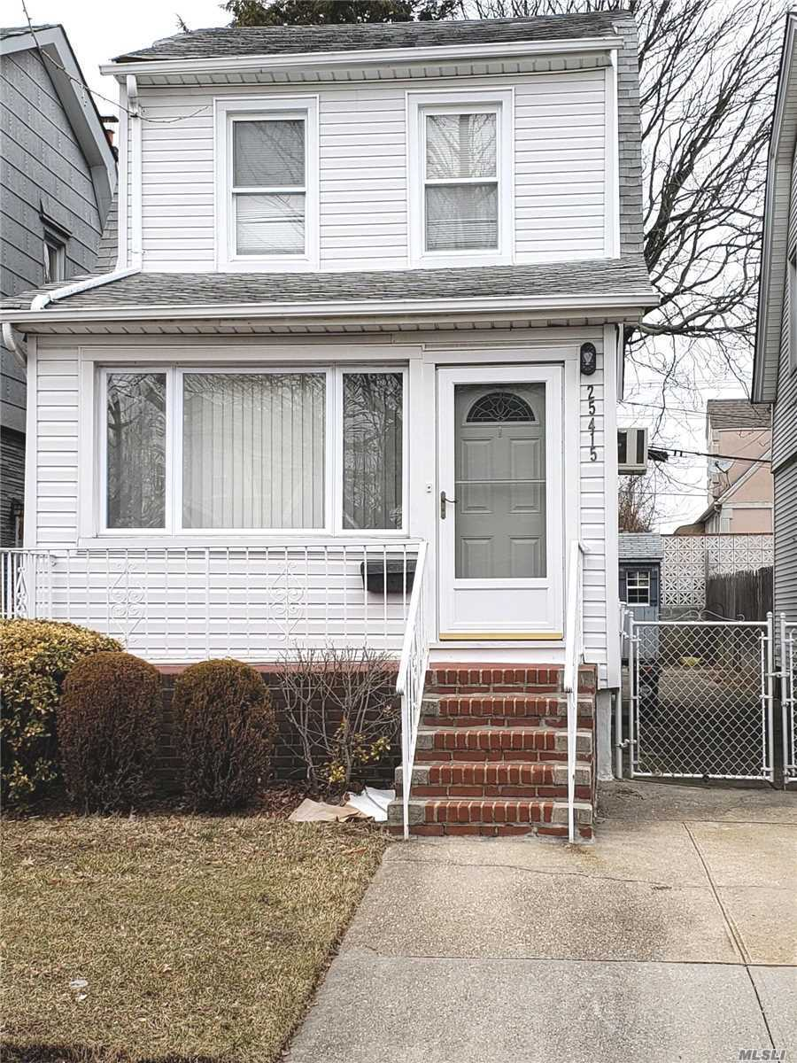 Great starter home featuring living room/dining combo, nice sized EIK, two bedrooms and a full bath upstairs. Home also has full finished basement. Excellent location- walking distance to shops and public transportation; close to parkways and hospitals. School district 26.