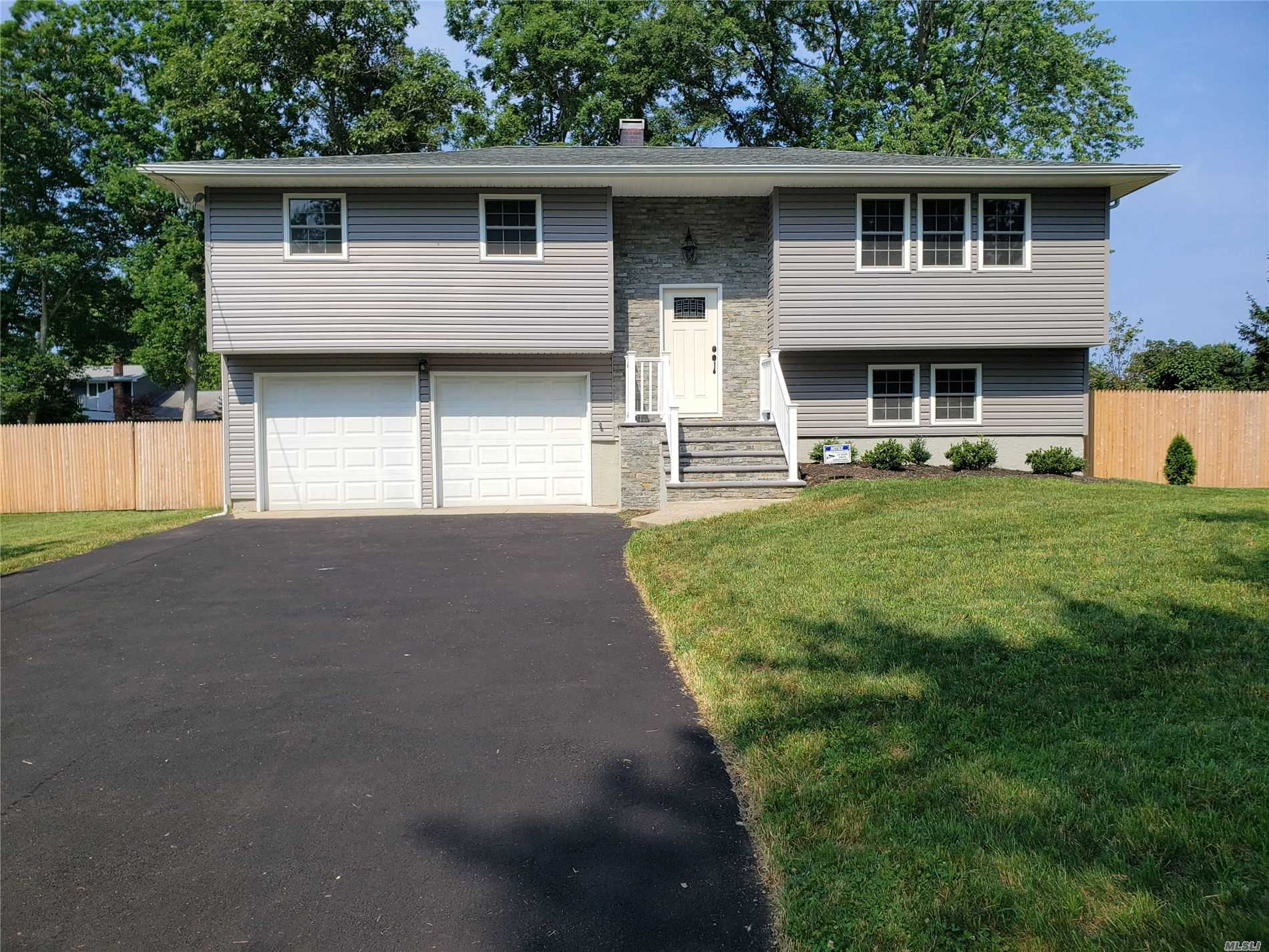 If there is one home you been waiting for all winter, then your search stops here! Absolutely Extraordinary Home beautifully & meticulously renovated w/attention to detail. Features brand new siding, new roof, new Pella windows, brand new heating system, new electric. Stunning new Granite Kitchen w/Center Island & SS Appliances. Open Floor Plan, Stunning new Baths, Gleaming hw floors, new crown moldings, new 2 panel doors, new driveway & much more! Must see to believe, remarkable transformation!