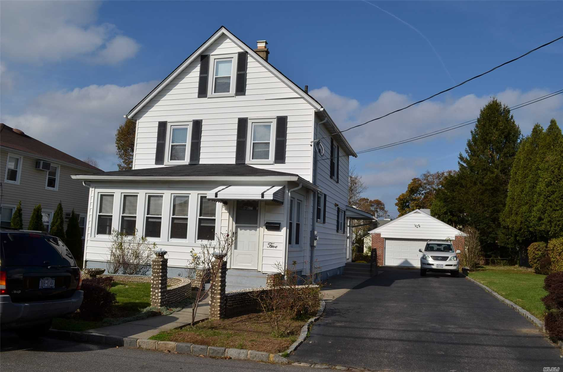 Clean and updated Colonial with large yard and 2 car garage. Large house still available. Easy to show. Landlord will consider small pet with extra security.