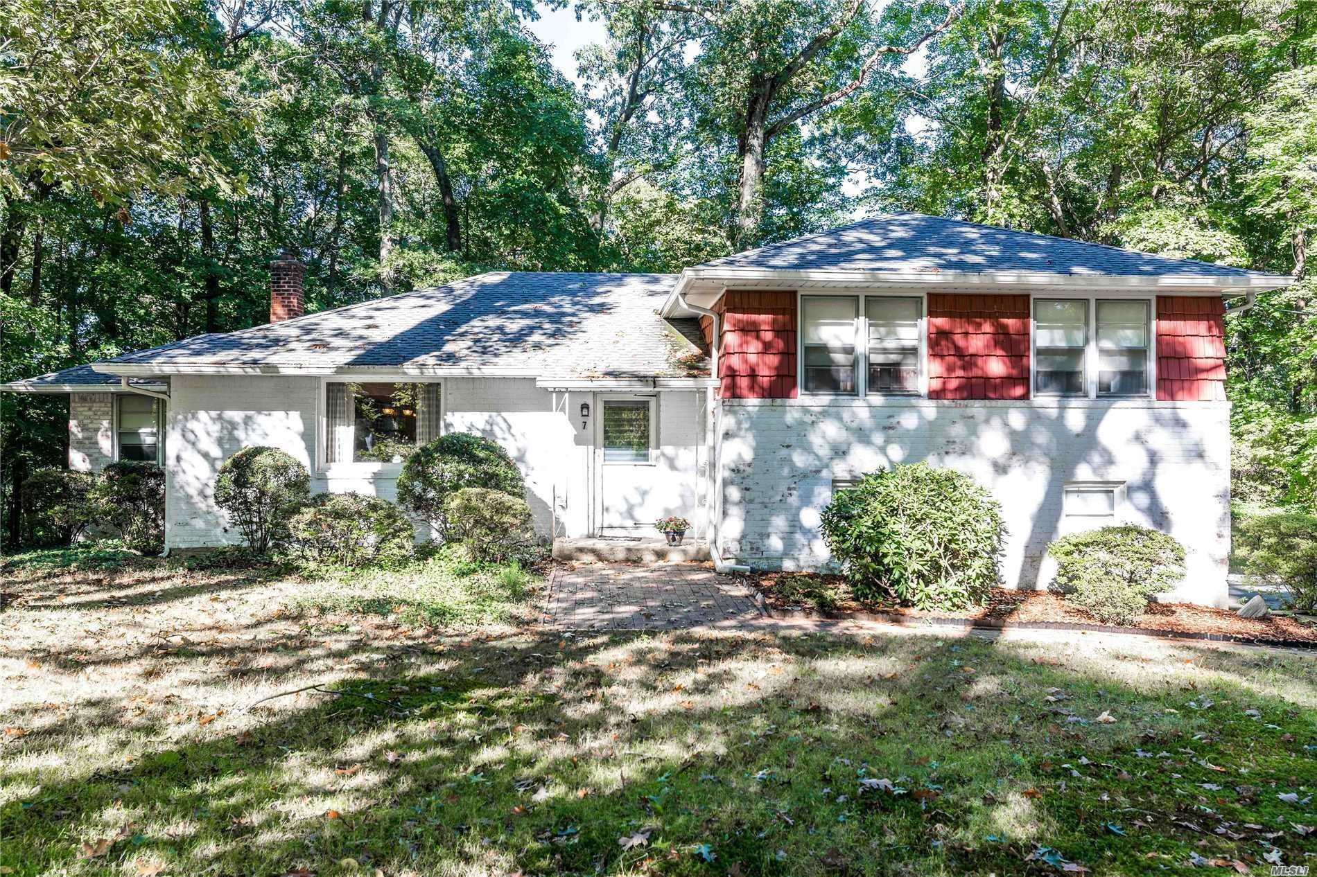 Great Opportunity To Live In West Hills. This Split Level Home Is Located In Audobon Woods, South Huntington Sd#13. 3/4 Acres, Set Back Off Of Street. Quiet And Serene Neighborhood. Being Sold As Is Make It Your Own. Assessed Value Of $654, 000.