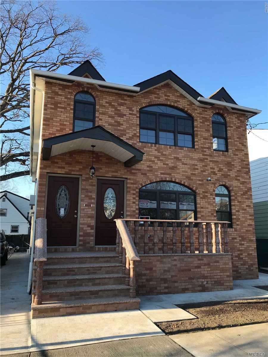 Stunning Brand New 2 family Construction Conversion located In Downtown Jamaica. Superior Quality/Custom Design Window & Kitchen.