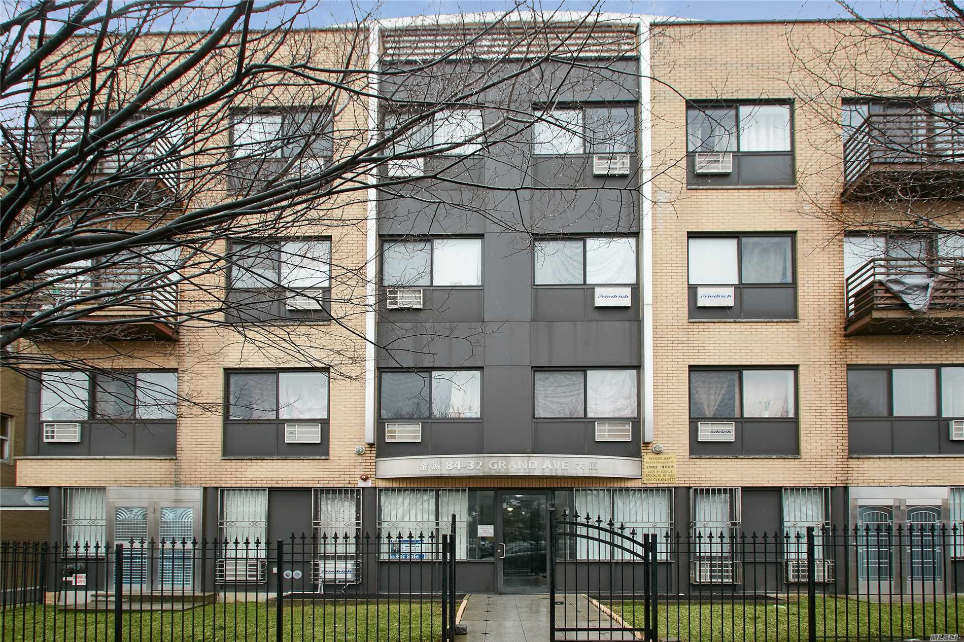 Bright and Spacious 1 Bedroom Condo In The Heart Of Elmhurst. Corner unit with a lot of windows. Hardwood Floors Through-out. Brand New Washer/Dryer in Unit. On-Site Parking Available and easy to park on the street. Close To Transportation, R & M Subway Lines, Bus Q58 and Q59, Shopping, Dining and Much More. Move in Condition!!
