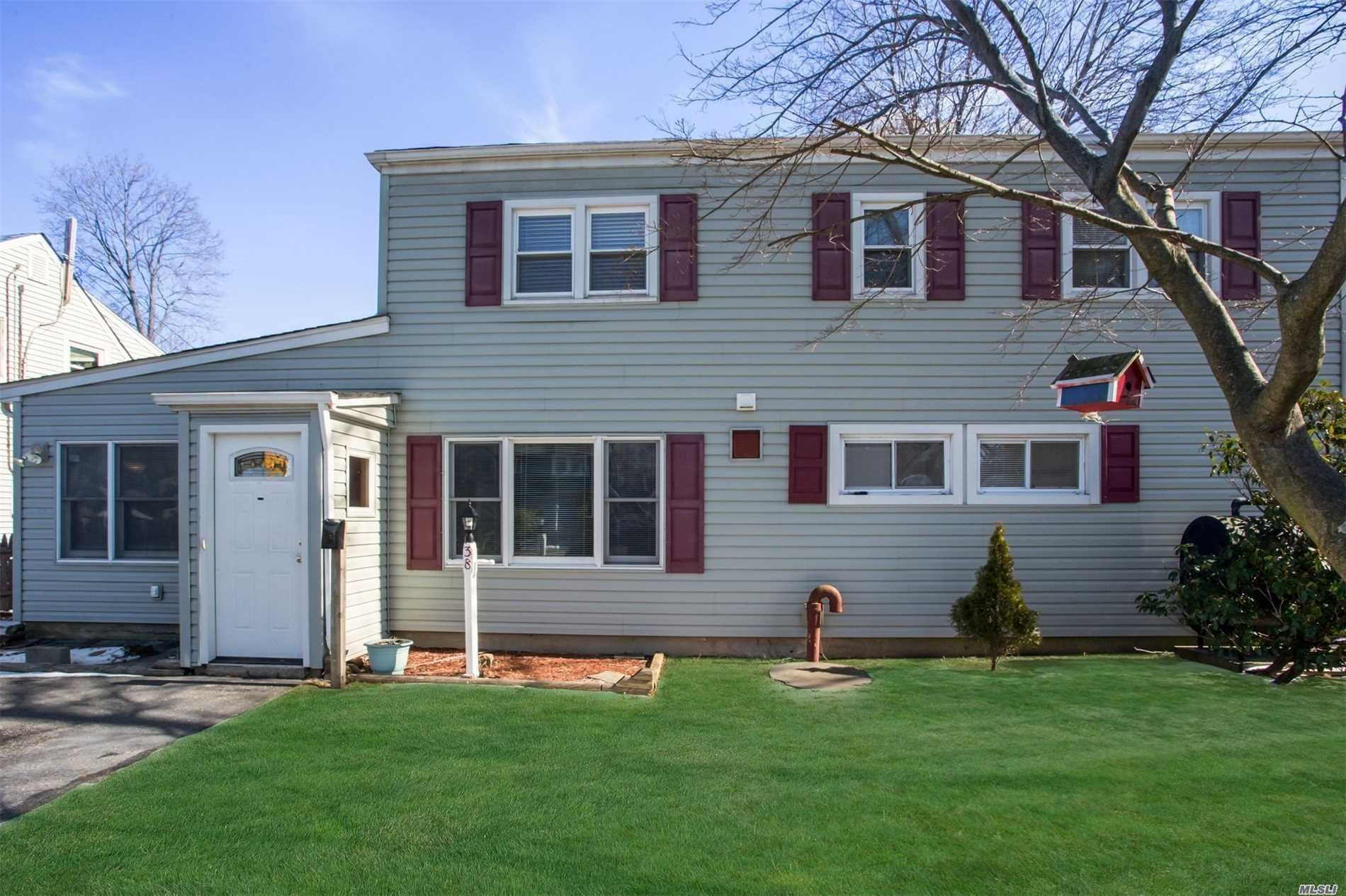Large Spacious 2246 Square Feet Double Dormered 5 Bedrm, 2 Bathrm, Living Rm, Dining Rm. Eik, Features Newer Vinyl Siding, New Carpet & New Laminate Fls. New W/D will be Installed. Freshly Painted. 2nd Floor Features New Ceramic Bathrm W/Stall Shower. Possible M/D With Proper Permit. Storage Rm. Fenced In Yard. Shed. Make This Your Dream Home!
