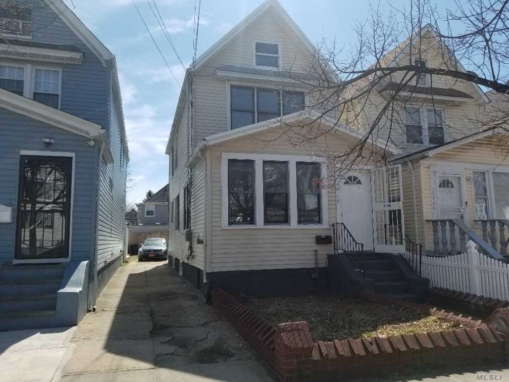 This Renovated colonial comes with New Floors, Plumbing, Electric, Boilers, Fresh Paint And Windows. Enclosed Kitchen With Granite Counter tops With Modern LG & Whirlpool Appliances. Washer & Dryer connections in basement, Private driveway.