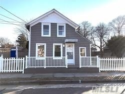 New to market!! Updated 2 bedroom cape. New kitchen with wood cabinets and appliances. New bathroom & washer/dryer. New carpets and hardwood floors. Walking distance to restaurants, railroad & Patchogue Theatre, Minutes to Patchogue Marina and ferry to Fire Island. Income and credit check required.