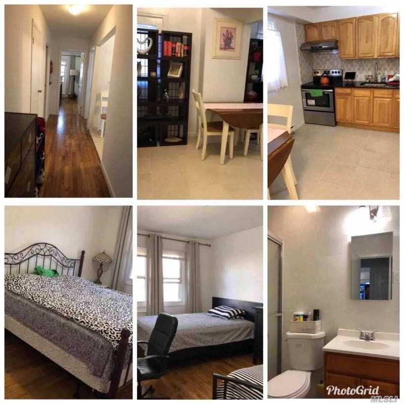 Spacious 2 Bedroom near the Bay Terrace/Fort Totten area. Q13 Flushing, QM2 Midtown Express, QM32 Midtown Express, School District 25, 1 Driveway Parking Spot, Open Dining Room/Kitchen. Washer/Dryer to be installed soon in basement!