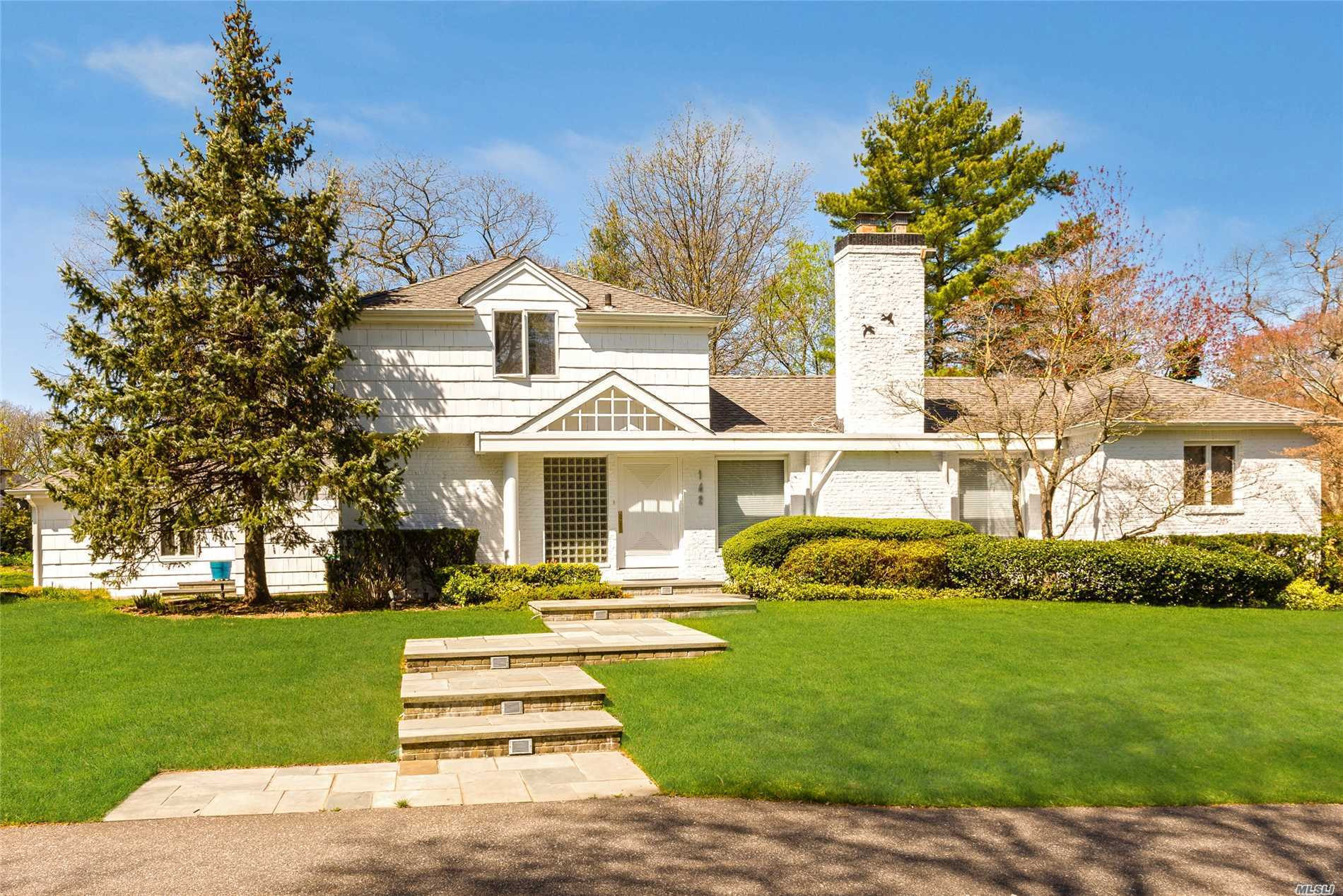 A Unique And Rare Opportunity To Own And Live On Willow Pond In Hewlett Harbor, N.Y. This House Boasts An Open Floor Plan With An Amazing Chef's Kitchen And Commercial Appliances. 4 Bedrooms, 3.5 Baths. Master Bedroom w Steam Shower.. Overlooks The Pond For Your Morning Coffee! Many Extra Features Must See, Will Not Last