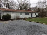 The house is a beautiful large partially furnished 5 bedroom home with 2 full bathrooms, full kitchen, 2 refrigerators, washer/dryer, living room, with nicely landscaped yard and large patio.Three Village School District. Near Port Jeff Village and major shopping areas. Off street parking. Credit check and references required.
