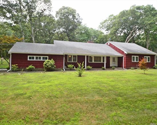 2 Story Farm Ranch With Many Updates, New Windows, 5 Bedrooms With 3.5 Baths, 2 Acre Property On Private Country Lane! Huge Walk In Attic/Bonus Room. Robins Lane Elementary