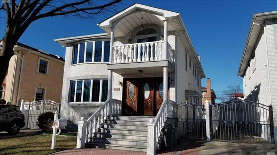 Beautiful Large Apartment On The 2nd Floor Of A 2 Fm. Detached House Excellent Condition Spacious Bright Sunny 3 Bds 2 Baths With Hardwood Floors Throughout , Convene Location To All Shopping And Transportation *** Proof Of Income And Credit Is Required ***