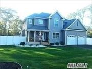 NEW CONSTRUCTION: Colonial 4 Bedroom, 2.5 baths, Great Location, Features Master Suite w/full bath and spacious closet, Granite Eat-in Kitchen, Formal Dining Room, Hardwood Floors on 1st Floor, Laundry Room, , Carpet on 2nd Floor,  CAC, Full Basement w/OSE