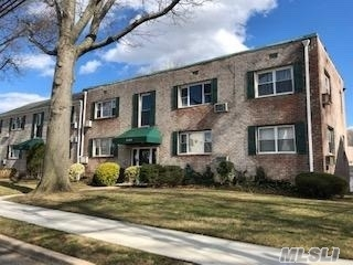 Walk up - sun -filled rooms, corner unit, Large living room, Dinette area, Kitchen w SS appliances, 2 Bedrooms, full bath. Pets OK under 35 lbs, storage, parking and garages avail waiting list, min of 20% down payment, 236 shares, subletting allowed after 18 months