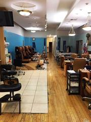Established Beauty/Nail Salon Business Near Rego Park Shopping Malls, Warehouse Club, Office Buildings On Queens Blvd And Junction Blvd. One Block From M/R Subway Station & Bus Stops. High Volume Shoppers, Commuters & Resident Foot Traffic. Ground Floor And Basement Combined 4, 000 Sqft.