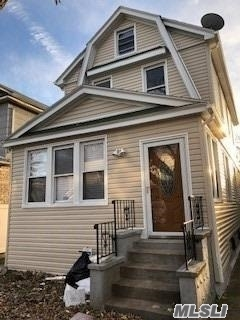 Newly renovated home that boasts an Eat In Kitchen W/Island & Stainless Steel Appliances; Hardwood floors throughout; Full Finished Basement With OSE and 3 bedrooms.