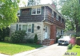 Investors Delight, Great Handyman Special, Location, Location, Location!!! 3000sq ft. with Approved Building Plans waiting for your personal touch. Huge basement with 8ft ceilings and a 2car detached garage. Walking distance to Village and to Farmingdale University. .Home is Vacant and has lock box. Can be lived in while renovations are on going.