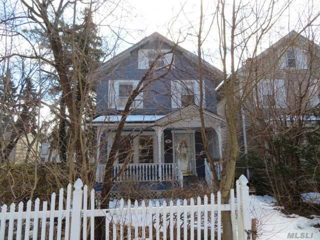 Diamond In The Rough! This Old Style Colonial Needs A Total Make Over To Become That Home Sweet Home Again! A Great Investment Opportunity At A Steal! Great Neighborhood & School District! Come & See What Could Be!