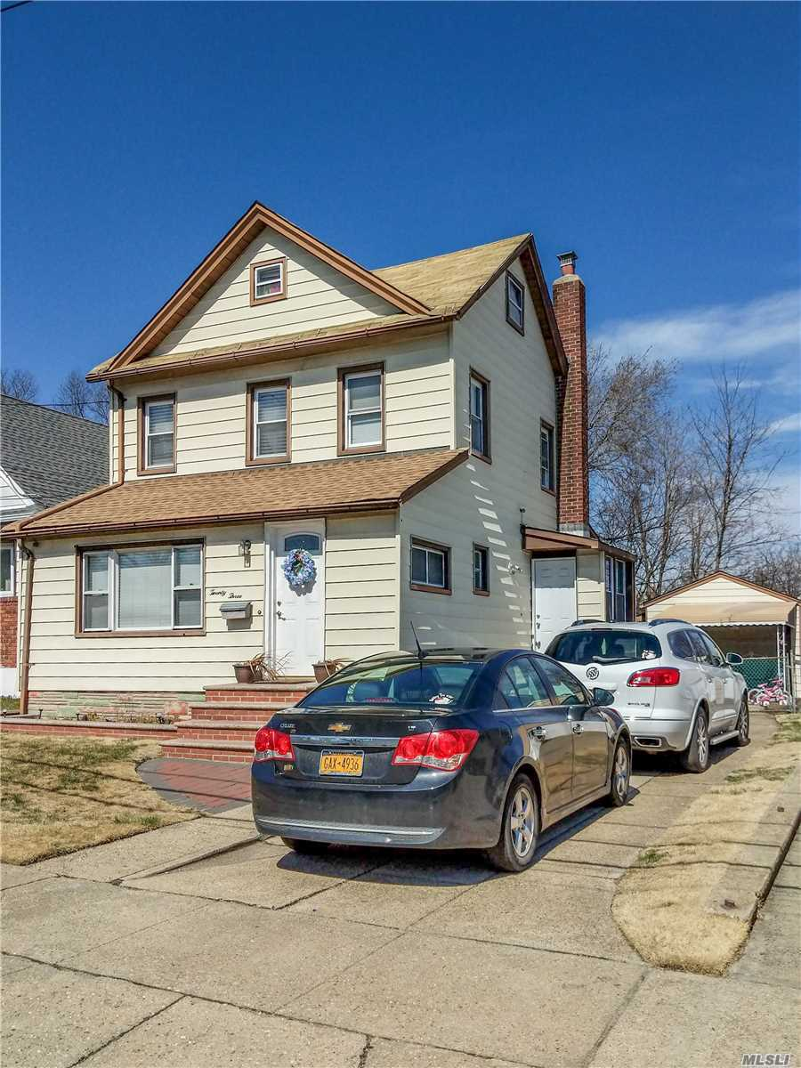 Very Nice Colonial With A Newer Kitchen, Bath And Bamboo Floors. Very Spacious First Floor. 2 bedrooms on the 2nd Floor And Finished Attic... Move In Ready With Low Taxes. Buyer to Verify all
