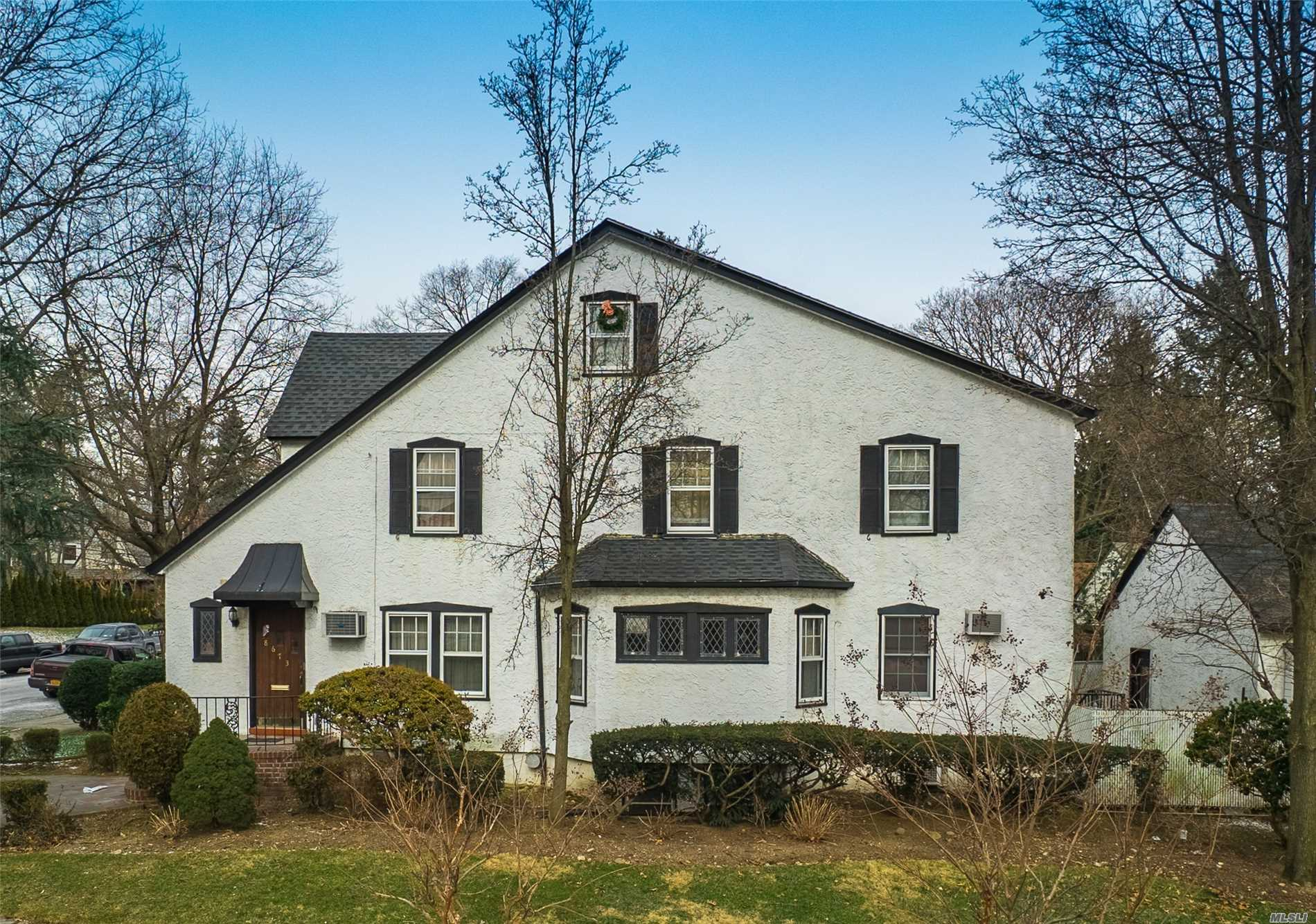 Old World character abounds in this 4 bedroom 2.5 bath colonial! This very well kept home features a 2-car detached garage, gas fireplace in the finished basement, gas heat, manicured landscaping and a prime location near mass transit and major highways.